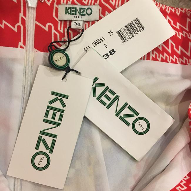 Multicolor Maxi Dress by Kenzo Image 11