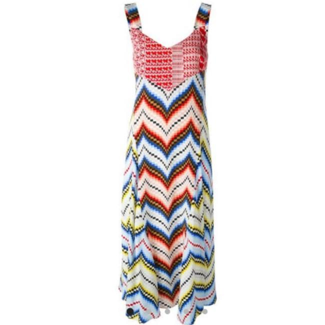 Multicolor Maxi Dress by Kenzo Image 3
