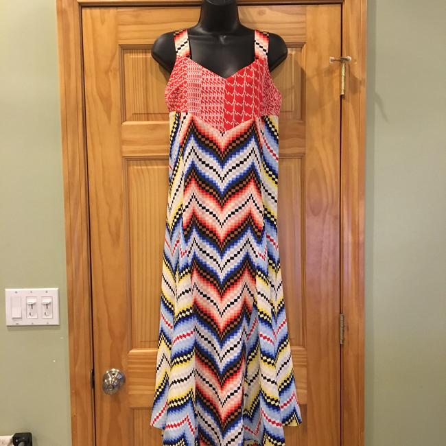 Multicolor Maxi Dress by Kenzo Image 5