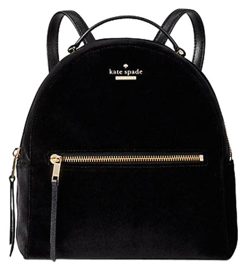 Preload https://img-static.tradesy.com/item/24814333/kate-spade-sammi-wkru5590-dawn-black-velvet-backpack-0-1-540-540.jpg