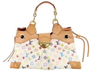 Louis Vuitton Handbag Tote in white