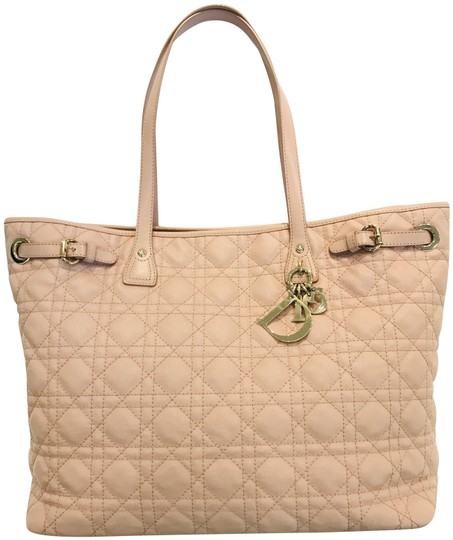 Preload https://img-static.tradesy.com/item/24814487/dior-cannage-panarea-pink-coated-canvas-tote-0-2-540-540.jpg