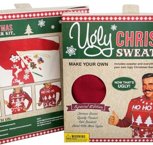 Ugly Christmas Sweater Kit Sweater