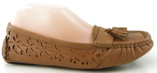 Taryn Rose Driver Loafers Wheat Flats Image 1