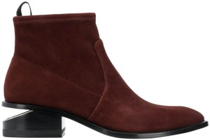 Alexander Wang Cut-out Suede Hollywood Date Night Cranberry Boots