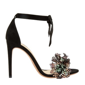 Alexandre Birman Black/Multi Color Sandals