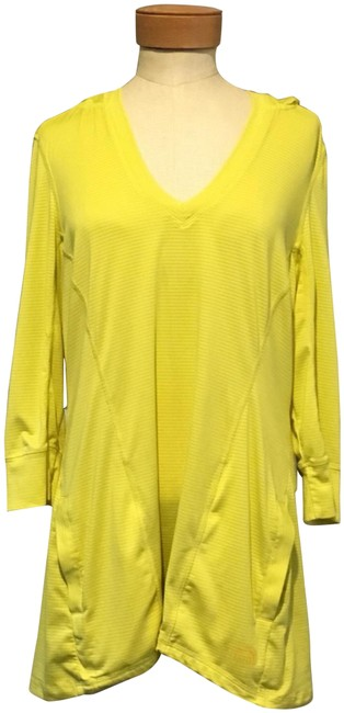 Item - Yellow Hooded Activewear Top Size 12 (L)