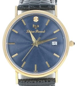 Lucien Piccard Lucien Piccard Watch New Old Stock - 14k Gold Diamond In Box New U4965