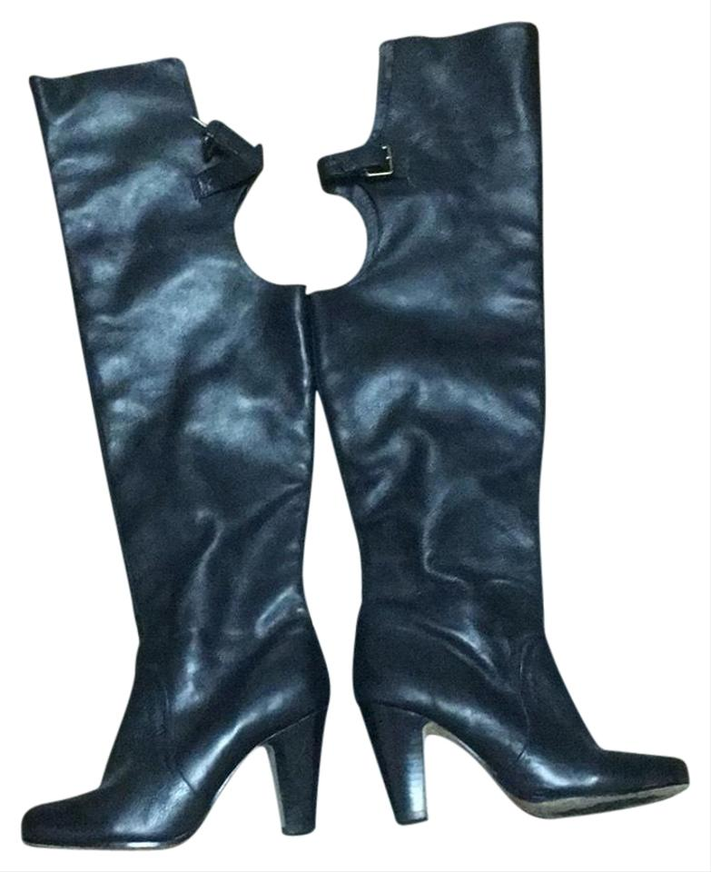 ee73b235050 Dolce Vita Black Over The Knee Boots Booties Size US 7 Regular (M