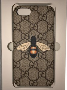Gucci Bee Print IPhone 8 Case (Not 8 Plus) Brand new in box never used, was a gift authentic