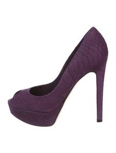 Dior Purple Pumps