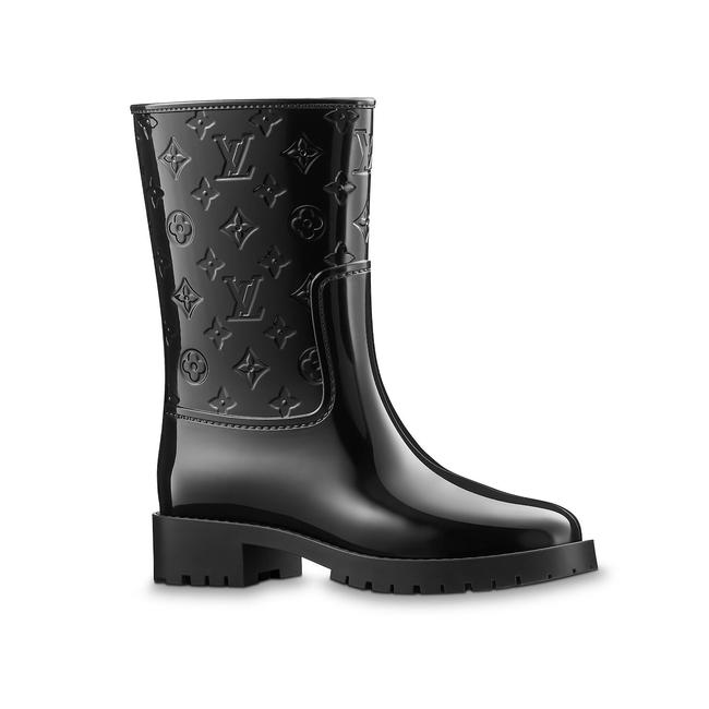 "Item - Black ""The Drops"" Rain Boots/Booties Size EU 37 (Approx. US 7) Narrow (Aa, N)"