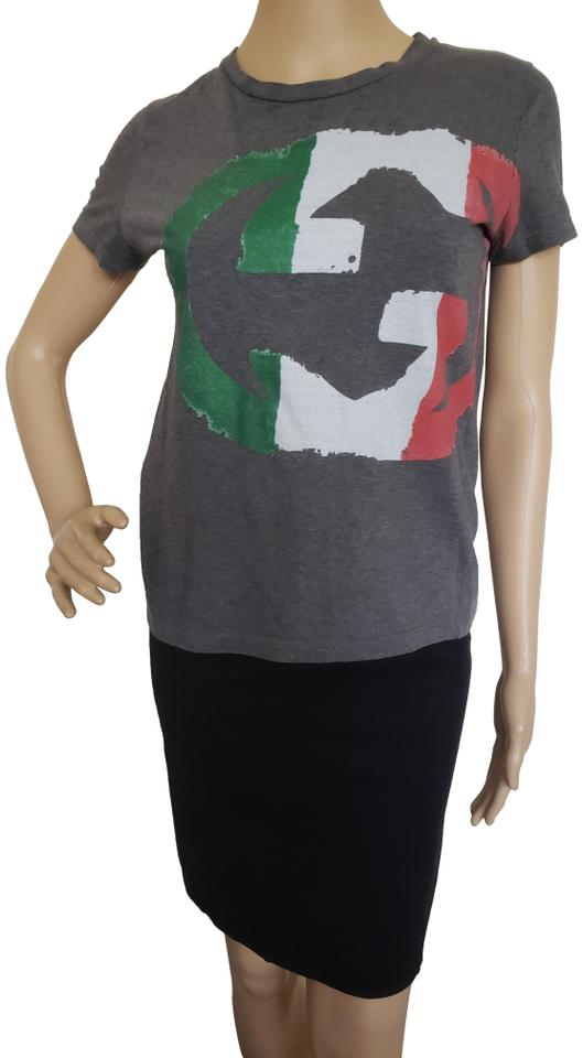 1c4865b2c195 Gucci Gg Guccissima Monogram Embroidered Flag T Shirt Multicolor Image 0 ...