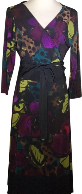 Preload https://img-static.tradesy.com/item/24816889/jones-new-york-floral-wrap-mid-length-workoffice-dress-size-14-l-0-1-650-650.jpg