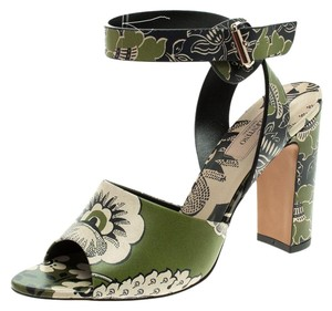 Valentino Leather Green Sandals