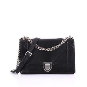 Dior Christian Calfskin Shoulder Bag