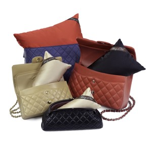 Bag-a-Vie Bag-a-Vie Made To Fit Chanel Hermes Purse Pillow Handbag Shapers 4Pack