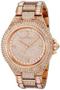 46882a8d1400 Michael Kors Stainless Bracelet Pave Crystal Camille MK5862