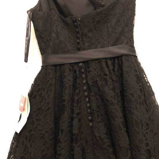 Mori Lee Black Style 31003 Formal Bridesmaid/Mob Dress Size 8 (M) Image 2