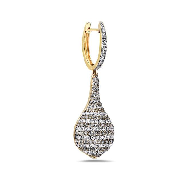 OMIJewelry 18k Yellow Gold Ladies with 5.41 Ct Diamonds Earrings OMIJewelry 18k Yellow Gold Ladies with 5.41 Ct Diamonds Earrings Image 1
