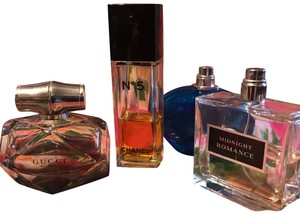 Chanel Lot of Four Perfumes