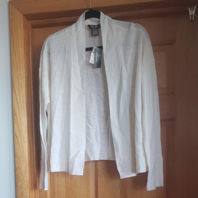 Preload https://img-static.tradesy.com/item/24818449/lord-and-taylor-ivory-frost-cashmere-cardigan-size-14-l-0-0-650-650.jpg