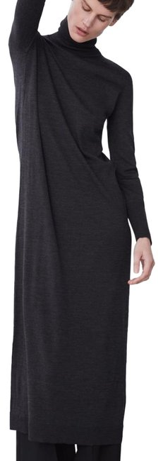 Item - Steel Limited Edition Wool Long Casual Maxi Dress Size 12 (L)
