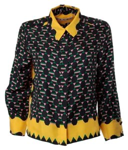 Marni Top Yellow Multi