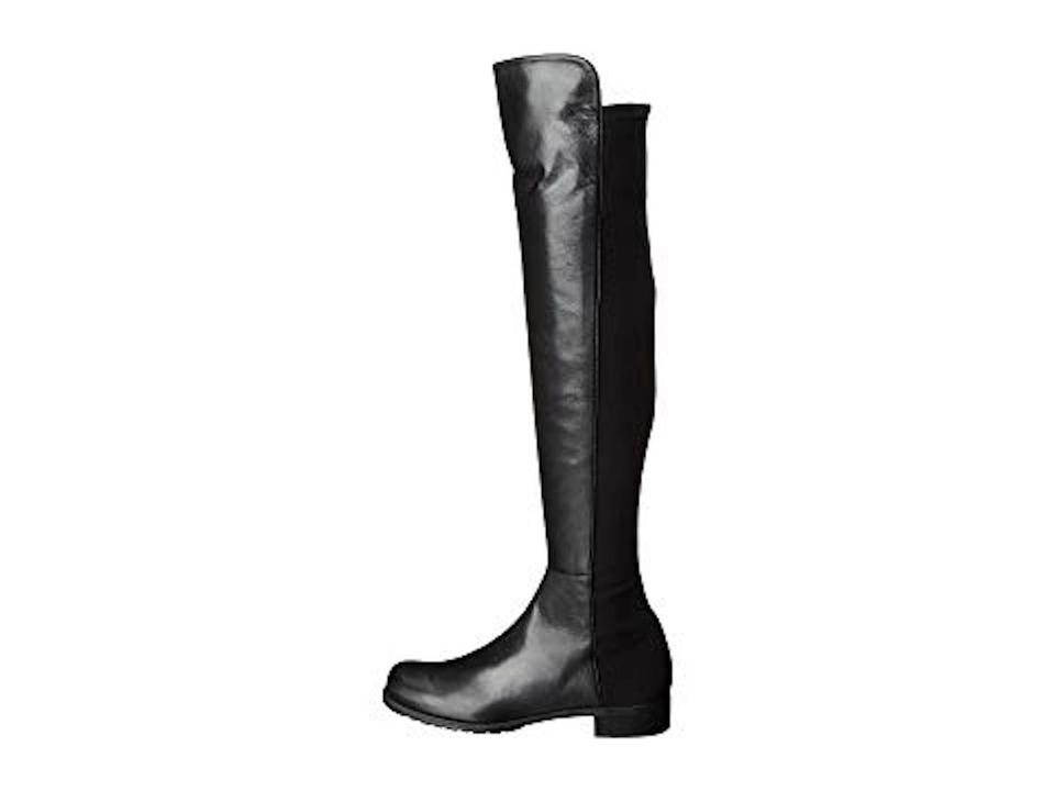 46dc32fa4b1 Stuart Weitzman Black Nappa 5050 0ver The Knee Boots Booties Size US ...