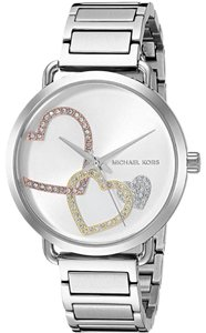 Michael Kors FLASH-SALE Silver Portia Mk3823 Watch