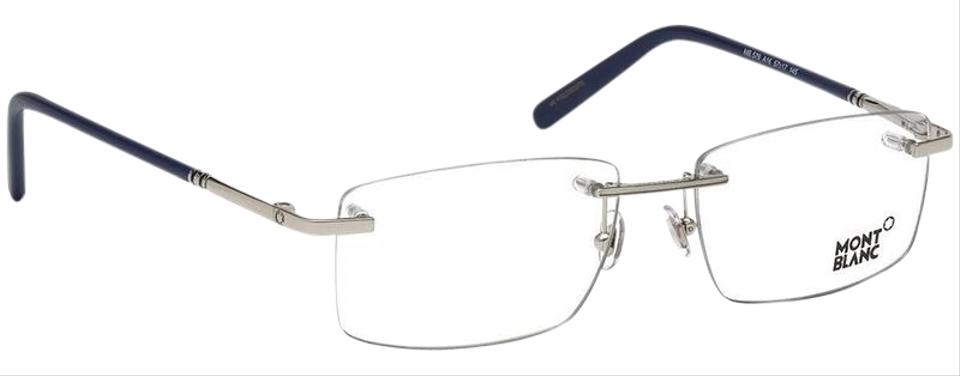 f2b40510eb Montblanc Silver Frame   Demo Customisable Lens Mb0579 A16 ...