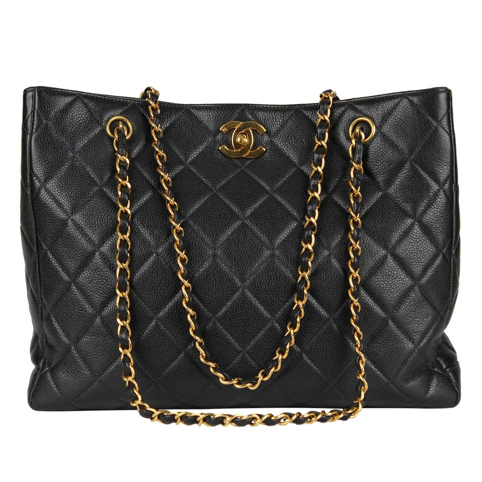 d8f85aa0d58b Chanel Timeless Quilted Matelasse Caviar Cc Logo Chain Shoulder 6982 ...