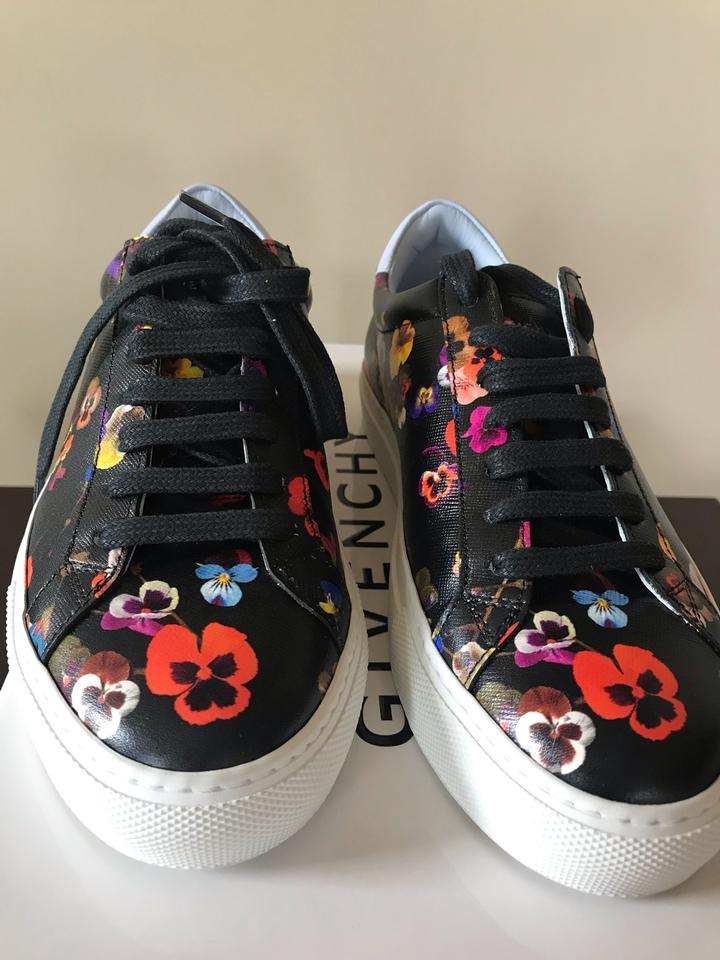 a9ef966ab989 Givenchy Black  Mutl Urban Knots Floral-print Low-top Sneaker Multi ...