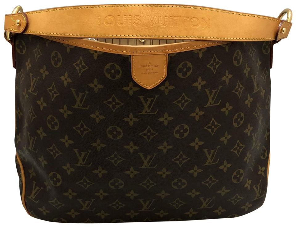 301a9287673 Louis Vuitton Delightful Pm Brown Monogram Canvas Hobo Bag 20% off retail