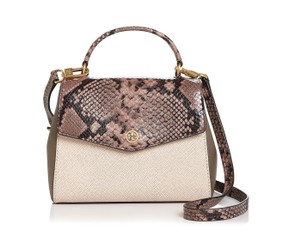 Tory Burch Snakeskin-embossed Shoulder Bag