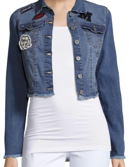 Item - Lue Cropped with Patches Jacket Size 2 (XS)