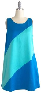 Lisa Perry short dress Blue, Green on Tradesy