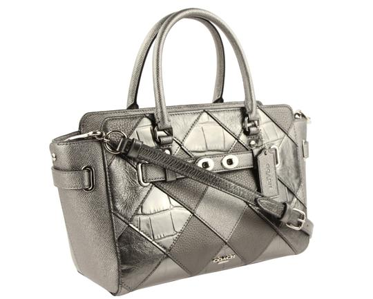 Coach Satchel in Silver Image 1