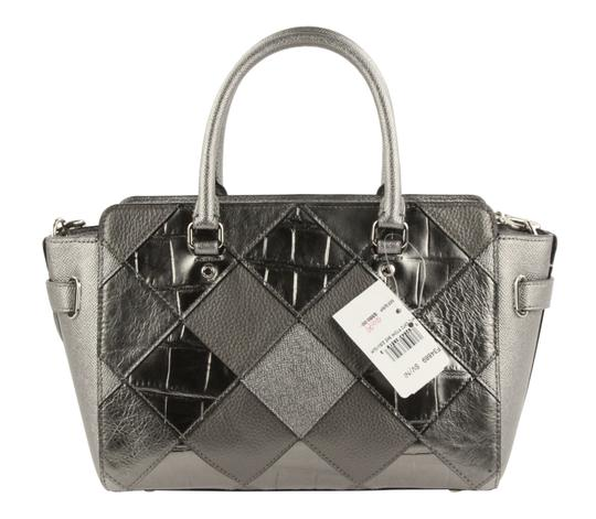 Coach Satchel in Silver Image 2