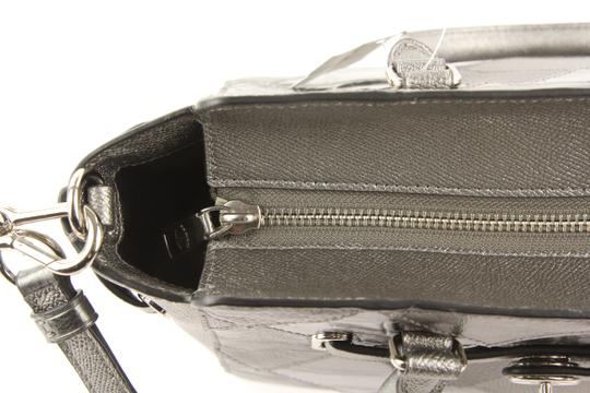 Coach Satchel in Silver Image 8