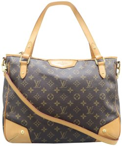 9a16f594e84e Louis Vuitton Lv Estrela Mm Monogram Canvas Satchel in Brown