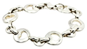 Tiffany & Co. Tiffany & Co. Stencil Heart Bracelet in 925 Sterling Silver 7.5