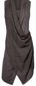 Ronen Chen short dress gray on Tradesy