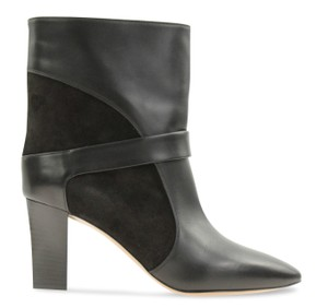 Chloé Leather Suede Black Boots