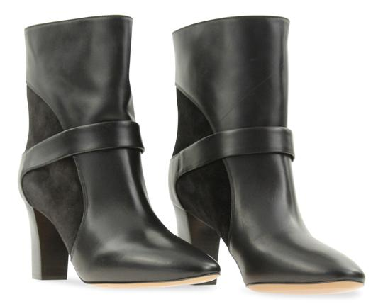 Chloé Leather Suede Black Boots Image 1