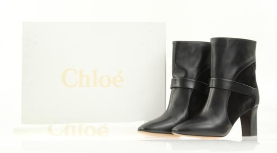 Chloé Leather Suede Black Boots Image 11