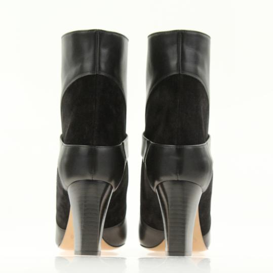 Chloé Leather Suede Black Boots Image 2
