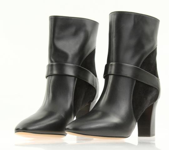 Chloé Leather Suede Black Boots Image 3