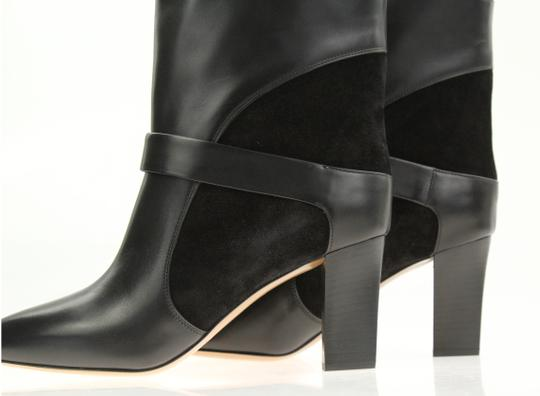 Chloé Leather Suede Black Boots Image 8