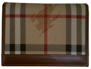 Burberry Burberry Haymarket check print id case